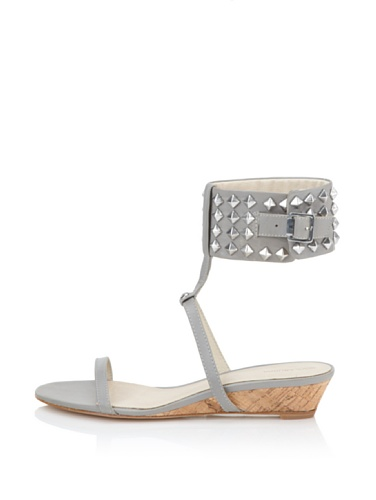Koolaburra Women's Gabby Demi Wedge Sandal (Grey)