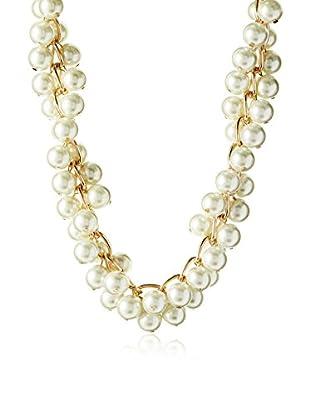 Jardin 12mm Faux Pearl Twist Chain Necklace
