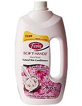 Dabur Fem Soft Handz Saffron and Blossom Handwash - 900 ml (Dabur Cold Cream free)