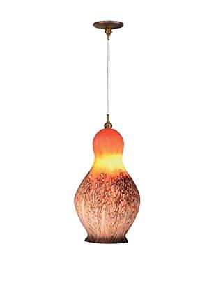 Fusion Z Glass Lighting Baby Black Sea Nettle Jelly Pendant Lamp