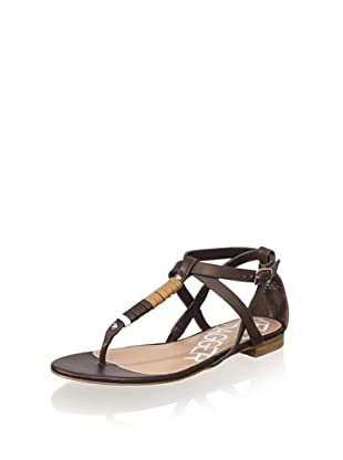 Kelsi Dagger Women's Kimmy Leather Sandal (Chocolate)