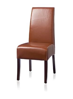Palecek Hudson Leather Chair (Caramel)