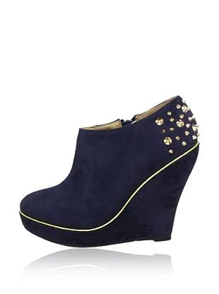 Buffalo Girl 331177 SY SUEDE 140886 - Botines  mujer (Azul)
