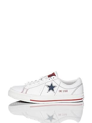 Converse Zapatillas One Star 1974 (Blanco / Rojo)