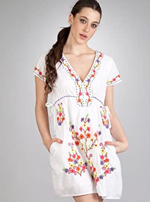 Flamenco Vestido Dulcinea (blanco)
