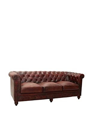 Chesterfield Sofa, French Roast