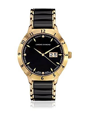 Chrono Diamond Reloj con movimiento cuarzo suizo Man 10400Dr Thyrso 42 mm