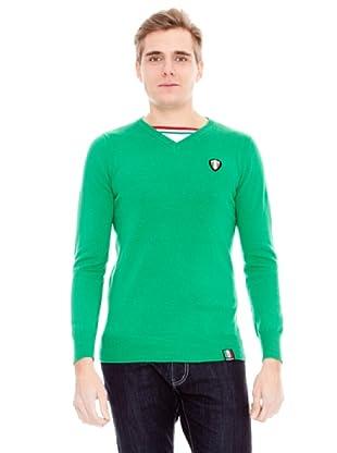 Unitryb Jersey Cuello De Pico (Verde)