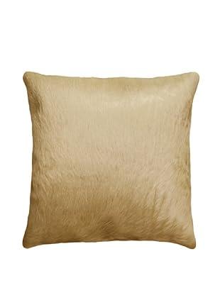 Natural Brand Torino Cowhide Pillow, Tan