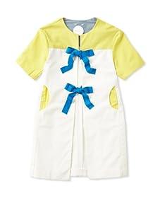 kicokids Girl's Graphic Lego Patchwork Summer Coat (Cirtus/Milk)