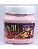ABH Face & Body Fruit Cream Scrub 500ml