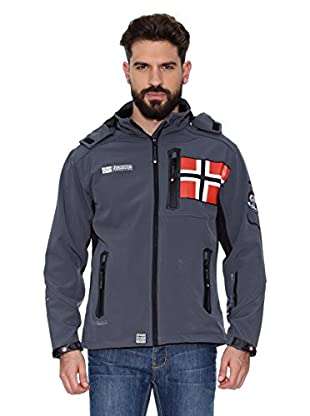 Geographical Norway Chaqueta Soft Shell Revlon Men 4 (Gris)