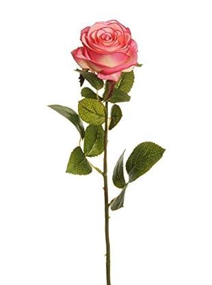 Kunstblumen 24 tlg. Set pink/creme
