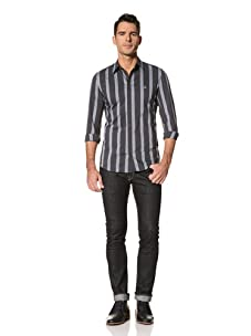 Vivienne Westwood Men's Shirt (Navy Stripe)
