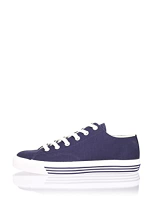 PRO-Keds Men's 69er Lo Canvas Sneaker (Navy)