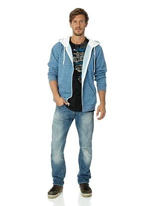Vans Herren Sweatshirt Core Basics Zip Hoody (classic navy heather)