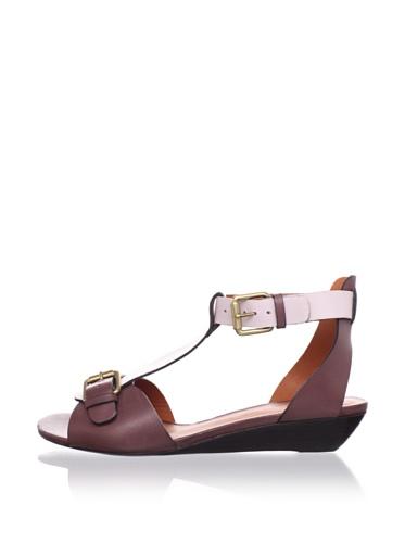 Pour La Victoire Women's Mali T-Strap Sandal (Blush/Lilac)