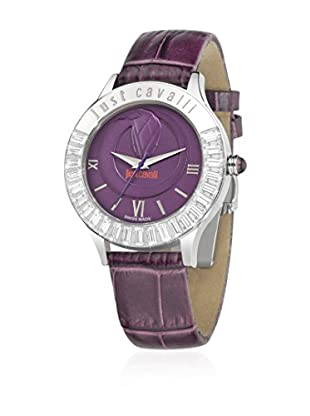 Just Cavalli Quarzuhr Woman Luminal lila 39 mm