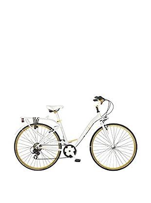 MBM Cicli Fahrrad City Trekking Woman weiß
