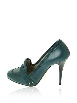 Pierre Cardin Zapatos Aldora (Verde Oscuro)