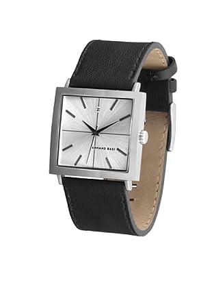 ARMAND BASI A0121G01 - Reloj de Caballero movimiento de cuarzo con correa de piel Marrón