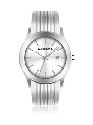K&BROS Reloj 9489 (Blanco)