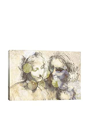 The Virgin And Child III Gallery Wrapped Canvas Print