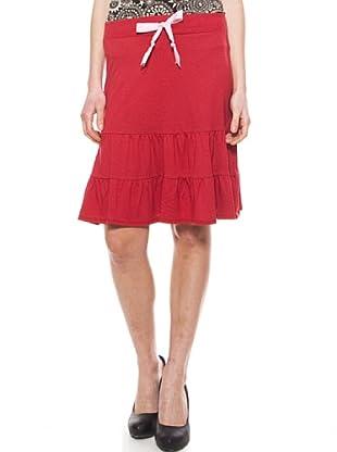 La Casita de Wendy Falda  Lisos (Rojo)