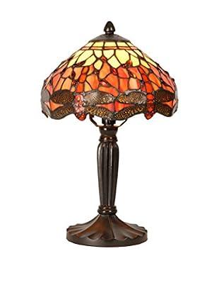 Sul Lámpara De Mesa Tiffany 20 Cm Carla