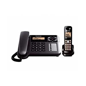 Panasonic KXTG-3651 Cordless Phone (Black)