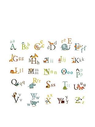 LO+DEMODA Vinilo Decorativo Animal Letters