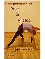 Yoga & Pilates Körperliche und mentale Stärke Intensiv (CardYo 4) (German Edition)