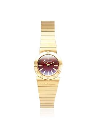 Ferragamo Women's F70SBQ5108i S080 Gancino Gold/Red Watch