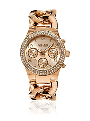SO & CO New York Reloj de cuarzo  Rosado 38 mm