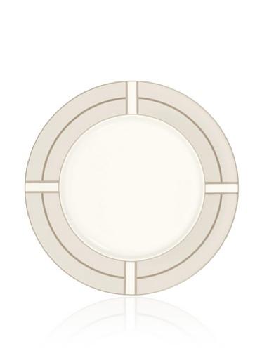 Noritake Everyday Elegance Trieste Round Platter (White/Taupe)