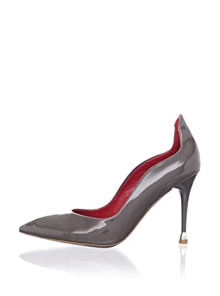 Charles Jourdan Collection Women's Edmond Pump (Grey Patent)