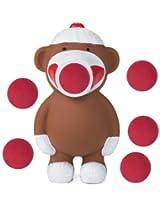Hog Wild Sock Monkey Popper Foam Battle Toy