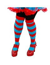 elope Thing 1/2 Striped Knee Highs