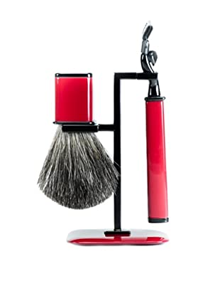 Wilouby Axwell USA RBS Series Shaving Set (Red)