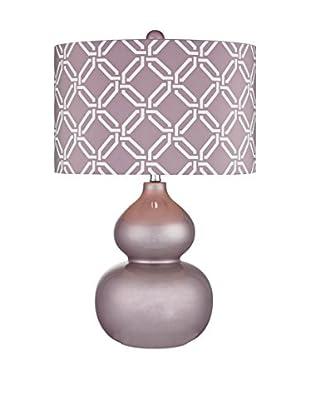 Artistic Lighting Lilac Ceramic Table Lamp