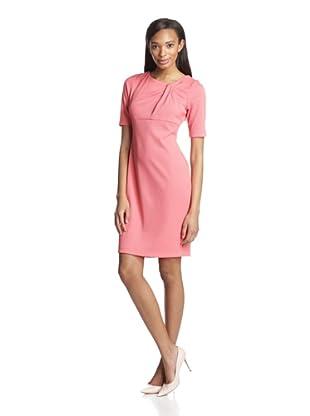 Gabby Skye Women's Elbow Sleeve Shift Dress (Mango)