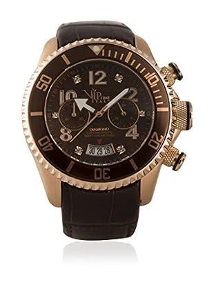 Vip Time Italy Uhr mit Japanischem Quarzuhrwerk VP8006BR_BR braun 50.00  mm