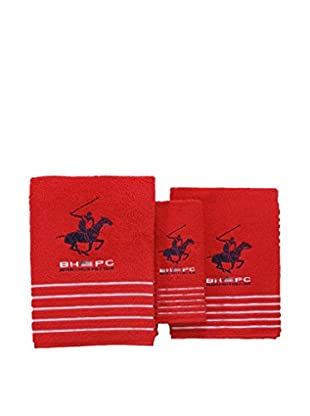 Beverly Hills Polo Club Set, 3 teilig (rot)