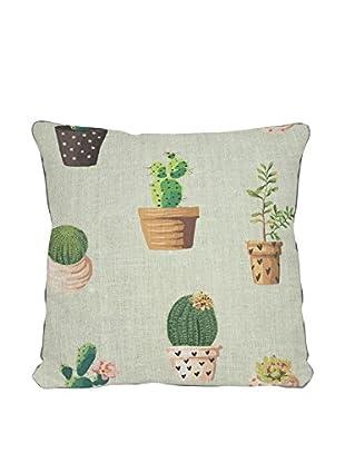 Surdic Cojín Cactus Multicolor 45 x 45 cm