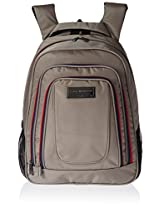 Tommy Hilfiger Jackson Polyester Beige Laptop Bagpacks (TH/JAK21BP0314)