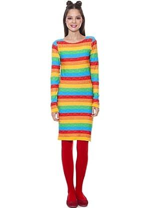 Agatha Ruiz de la Prada Vestido Lines (Multicolor)
