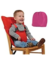 Portable Baby Safety Chair/ High Chair Harness Seat Belt - Pink