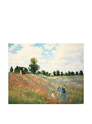 LegendArte  Wandbild Mohnfeld  von Claude Monet