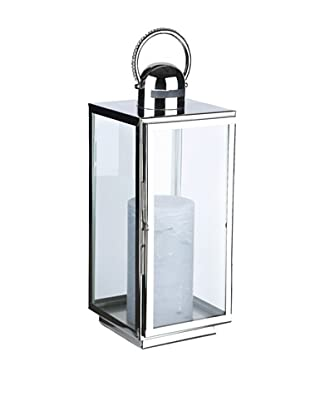 Sidney Marcus Crystal Jeweled Lantern (Silver)