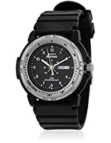 MH23 Black/Black Analog Watch